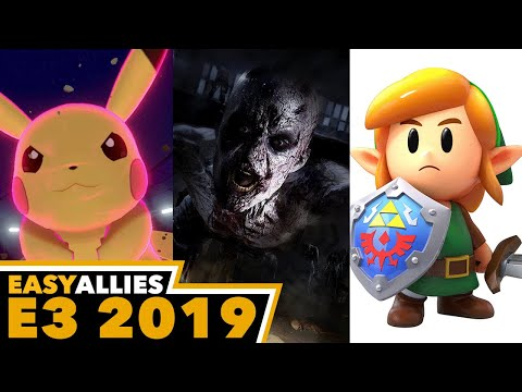 5b757538bcacc Our second day of E3 has us stopping by Nintendo's booth and dealing with  some true monsters. (Streamed June 12, 2019) 1:20 - Pokemon Sword & Shield  39:48 ...