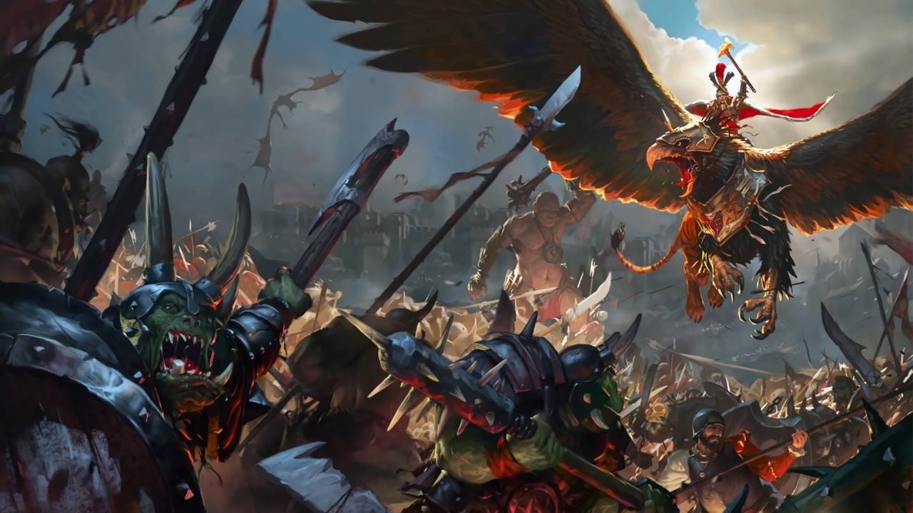 Total war warhammer ost bretonnia skirmish extended - Battlefield screensaver ...
