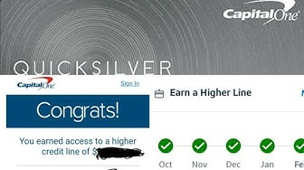 """(""""D""""Vol:5)🎉Capital One,Credit Steps CLI after 5mths of pymts&@the 6th statement you receive CLI🎉"""