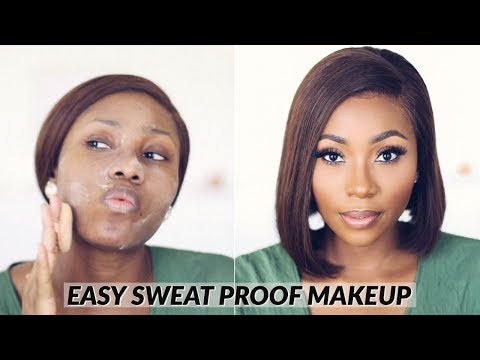 SIMPLE EVERYDAY MAKEUP FOR HOT WEATHER (SWEAT PROOF, HEAT PROOF) | DIMMA UMEH thumbnail