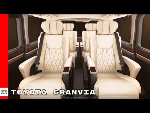 New Toyota Granvia Eight Seater MPV
