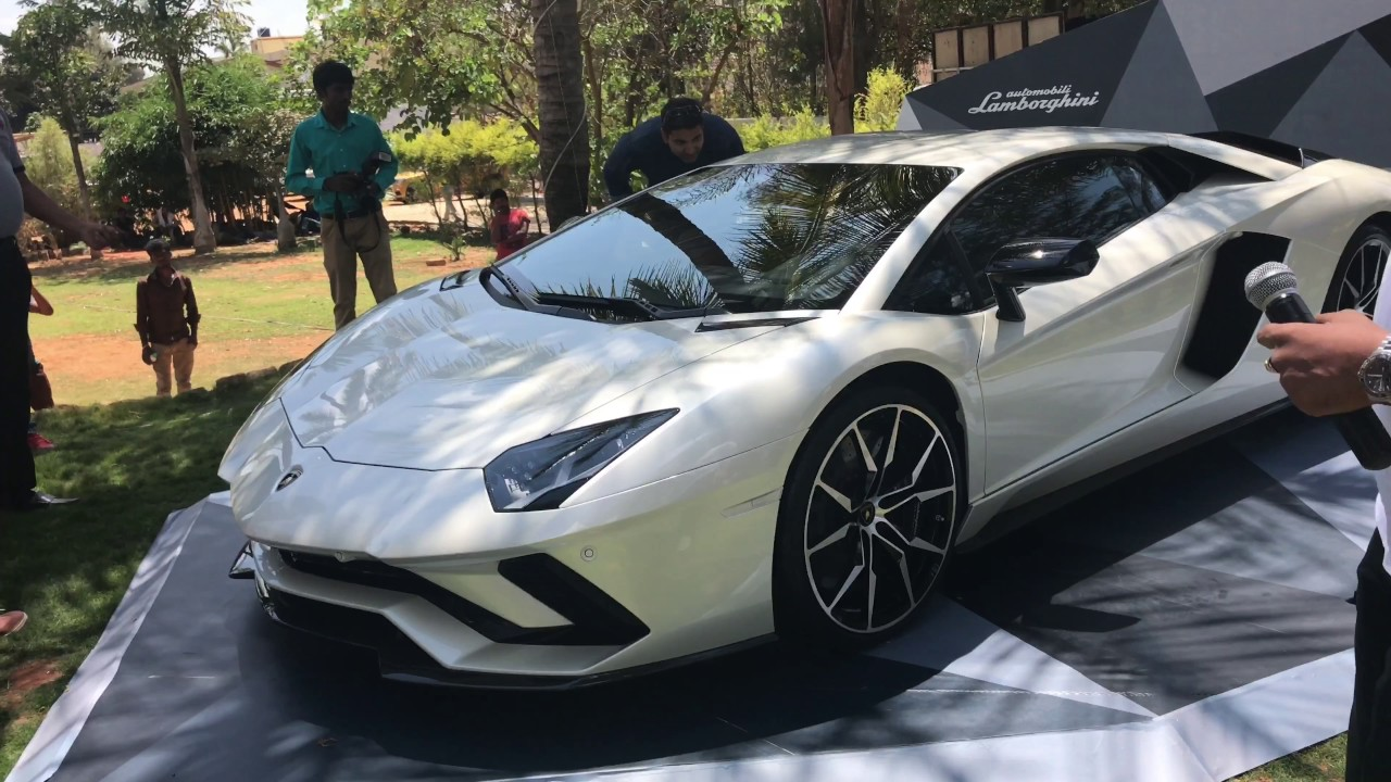 lamborghini aventador s india launch - youtube