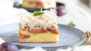 Ekspresowe ciasto ze s liwkami
