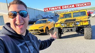 I BOUGHT MY GIRLFRIEND HER DREAM LAMBO... Time For MY DREAM TRUCK!!! Ft. LBZ Wrap Reveal!