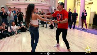 Bachata social workshop with Marcelo and Belen at | HSW 2019 | by Dance Vida