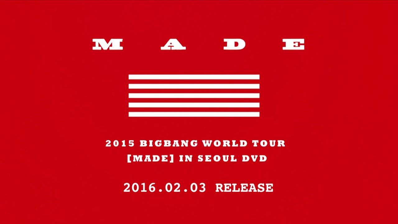 Bigbang Made Tour