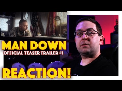 REACTION! Man Down Official Teaser Trailer - Shia LaBeouf Movie 2016