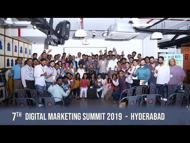 Digital Marketing Summit Update - Hyderabad || 2019