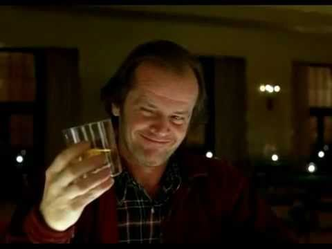THE SHINING ~ At The Bar (a defining moment) - YouTube