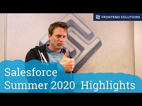 Salesforce Summer 2020 Highlights - Deutsch
