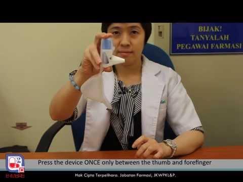 how to use ventolin inhaler video