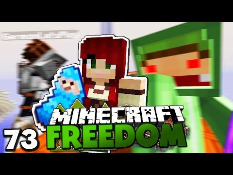 GEBURT VON PALETTENLP & REISE IN DIE WELT VON AURA! ✪ Minecraft FREEDOM #73 | Paluten