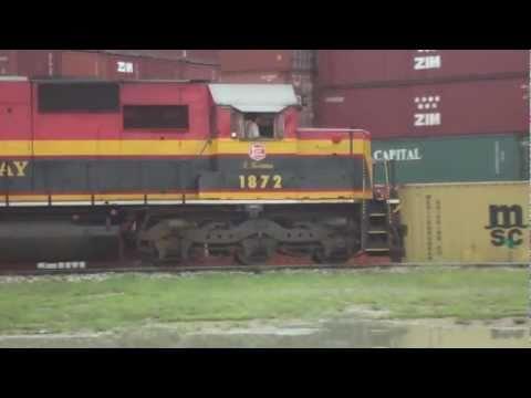 Freight Train in Panama