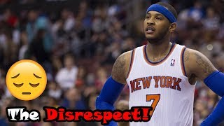 Carmelo Anthony's Career Gets Disrespected WAY Too Much!