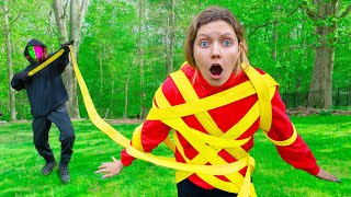 GRACE SHARER CAPTURED in MYSTERY NEIGHBOR TRAP!! (Can She Escape?)