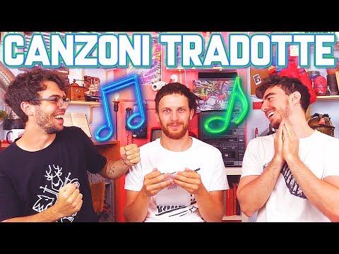 Canzoni TRADOTTE in italiano! - Riconosci il testo?