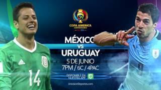 Copa America Centenario: México vs Uruguay