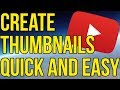How To Make A YouTube Thumbnail! - Fastest/ Easiest Way In Your Browser!