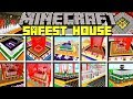 Minecraft SAFEST HOUSES MOD / BUILD UNBREAKABLE HOUSES AND BASES! / Modded Mini-Game