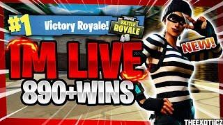 NOUVEAU RAPSCALLION SKIN! TOP PS4 SOLO PLAYER! 820 victoires en solo Fortnite Battle Royale EN direct