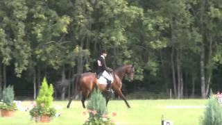 Nick Campbell Dressage at Highclere Castle 2010