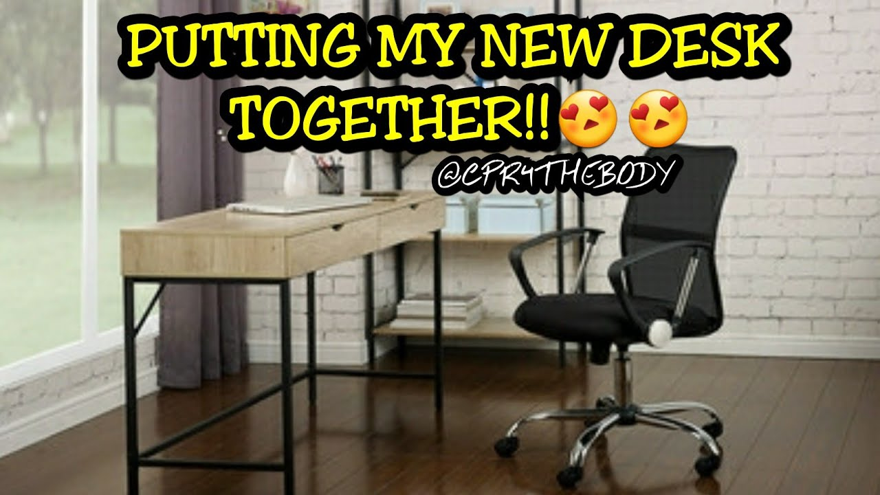 How To Assemble An Aldi Writing Desk