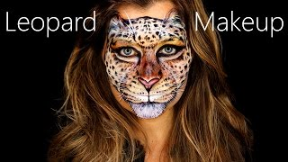 Download Leopard Makeup / Leopard Face Paint / Leopard Face Artistry Tutorial Mp3 and Videos