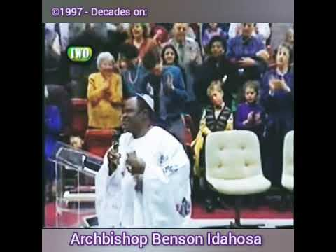 Benson Idahosa preached about corona virus and the lockdown