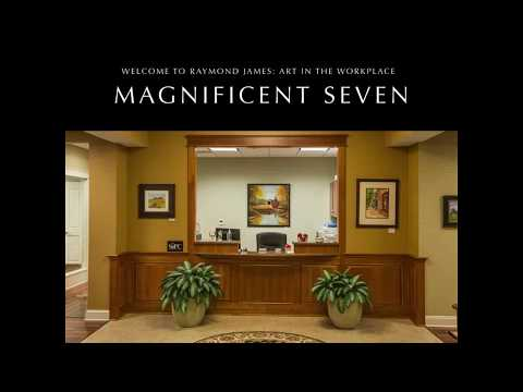 Magnificent Seven Art in the Workplace,Raymond James Offices,Newtown,PA 6 22 17 reception