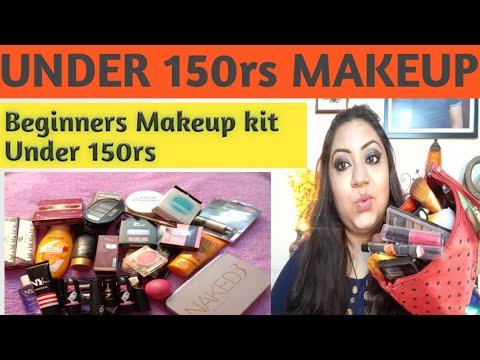 makeup under 150rs/beginners makeup kit under 150rs