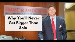 Why You'll Never Get Bigger Than Solo