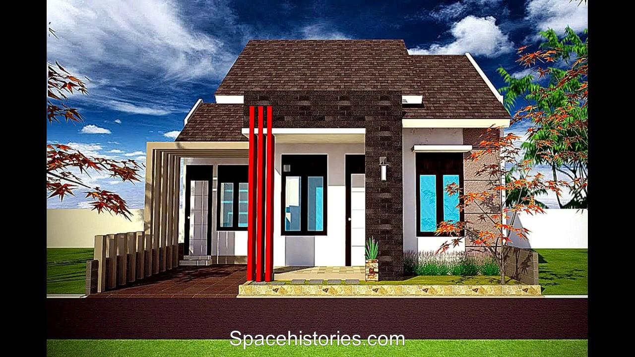 Model Rumah Minimalis Tampak Depan Dengan Batu Alam Youtube
