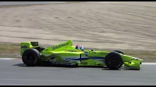 Minardi M02 F1 (ex-Marc Gene) at Zandvoort