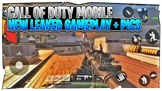 Call of Duty Mobile New Gameplay - Leaked Gameplay and Pictures - By Tencent ( Android & iOS )