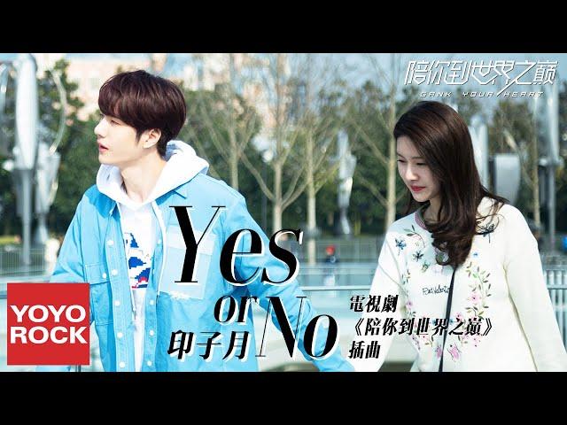 印子月《Yes or No》【陪你到世界之巔 Gank Your Heart OST電視劇插曲】官方動態歌詞MV (無損高音質)