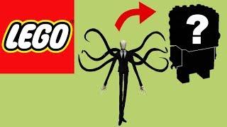 How to Build Lego Slender Man | Brickheadz