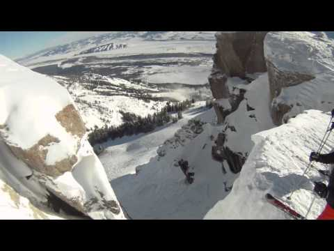 Corbet's Couloir GoPro Jackson Hole