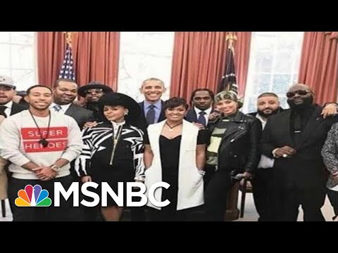 As Trump Era Ends, Rick Ross On Path To Obama WH, MSNBC Quotes And Jay-Z link | MSNBC Dig. Excl.