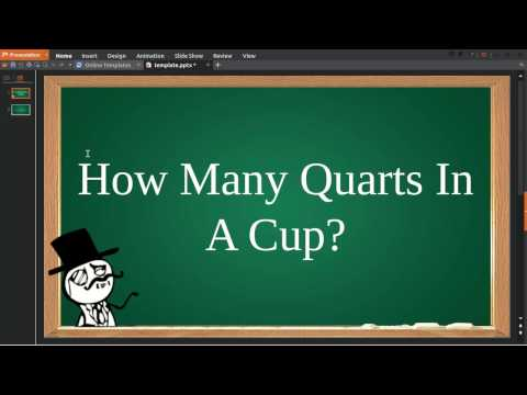 How Many Quarts In Cup