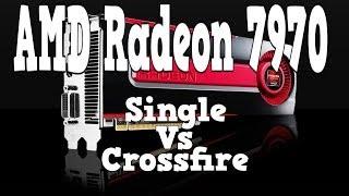 radeon 7970 single crossfire benchmarks
