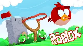 Roblox | GIANT ANGRY BIRDS TAKE OVER - Escape Angry Birds! (Roblox Adventure)