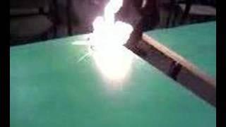 macello il banco prende fuoco
