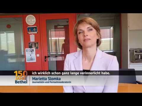 Marietta Slomka gratuliert zum Bethel-Jubiläum