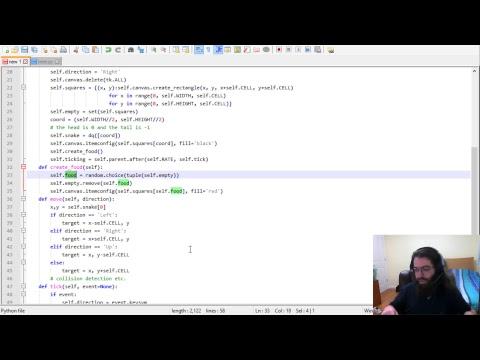 Let's Code Python: Snake, Part 1