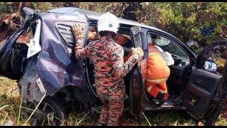 3 maut kemalangan babit 2 kenderaan