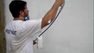 Speed Paint Pinturas Emassando na maquina!!!
