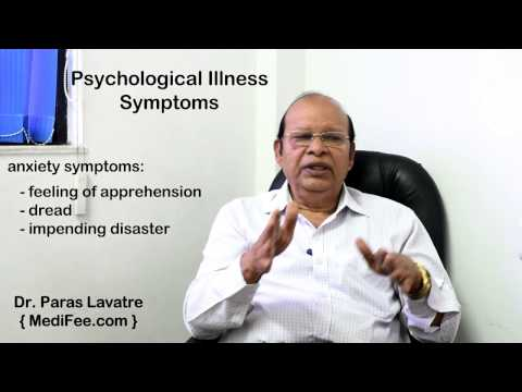 Symptoms of Psychological Disorders