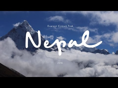 NEPAL – EVEREST CIRCUIT TREK | Gokyo, Cho La, Everest Base Camp.
