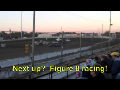 Dallas County North Track - Adel, Iowa - Track #1,716 - Racing action