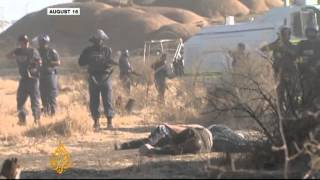 South Africa mine shooting highlights police abuse